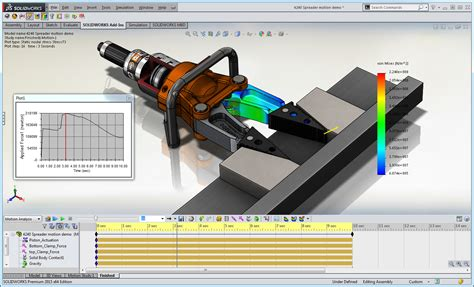 tutorial solidworks motion 2012 design assemblies with moving parts easily with solidworks