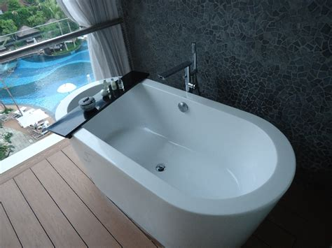 hotel bathtub the stones hotel legian bali marriott autograph collection review of my stay loyaltylobby