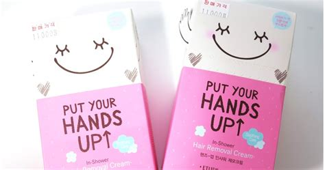 Etude House Put Your Up Smooth Inshower Removal bubeee review etude house put your up in shower hair removal
