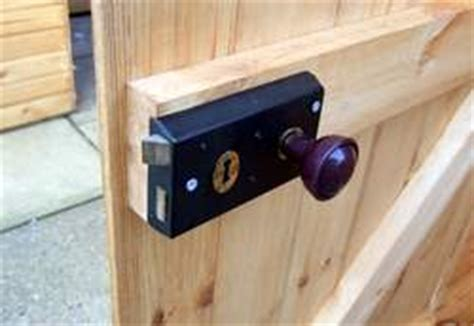 choose a shed door lock to keep your shed secure