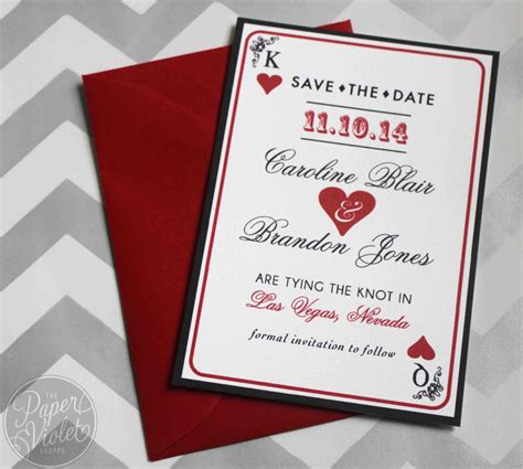 Vegas Themed Wedding Invitations by Casino Themed Wedding Invitations Www Imgkid The