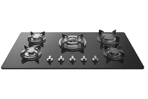 gas range tops empava 34 tempered glass built in 5 italy sabaf burners stove top gas cooktop common shopping