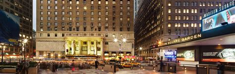 Floor Plans Nyc by Hotels In Midtown Manhattan Hotel Pennsylvania