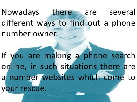 Best Way To Find Peoples Phone Numbers How To Find Phone Number Owner