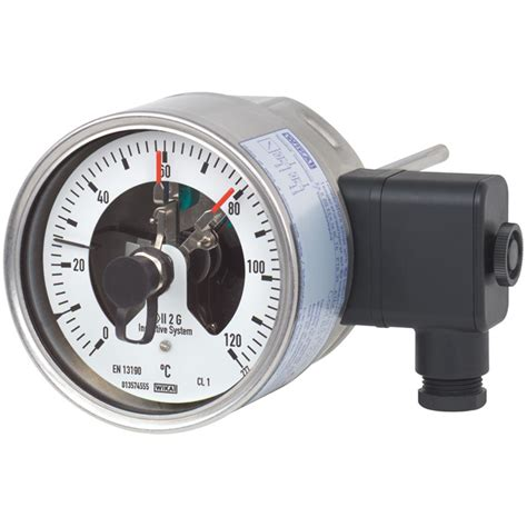 Bimetal Termometer Capillary sivi 231 kontakl箟 bimetal termometre 55 8xx wika t 252 rkiye