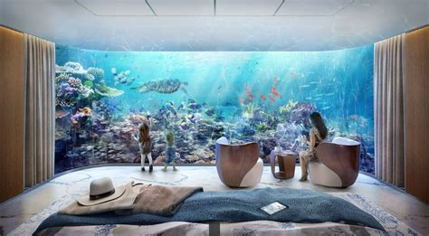 underwater bedrooms dubai gets larger floating homes with 2 underwater