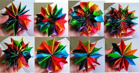 How To Make Fireworks Out Of Paper - origami maniacs origami firework by yami yamauchi
