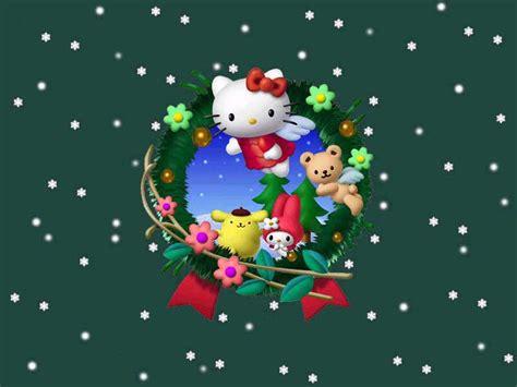imagenes de merry christmas 2014 哈喽kitty桌面