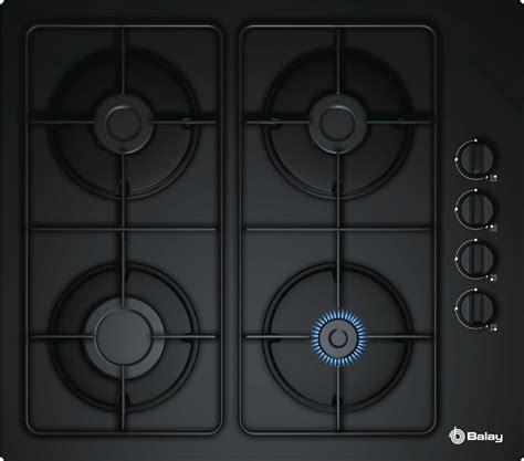 cocina gas balay comprar placa gas balay 3etg464mb cristal negro 4 fuegos