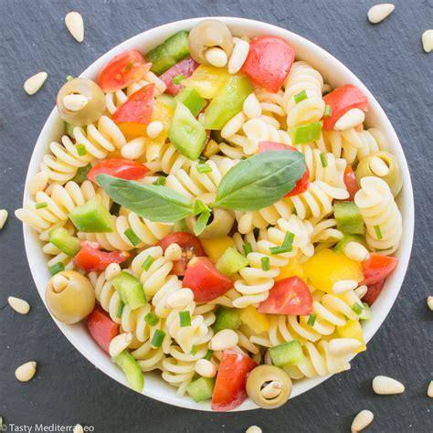 tasty pasta salad healthy mediterranean pasta salad tasty mediterraneo