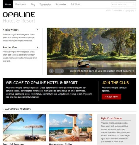 theme hotel hacked youtube opaline hotels resorts wordpress theme dobeweb