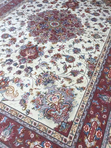 rug place tabriz rug10 1 x 6 6 ft 310 x 202 cm rugs place