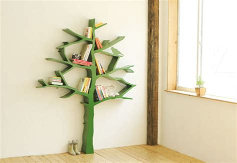 5 cool and creative tree like bookshelves digsdigs