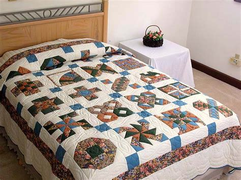 Amish Patchwork - patchwork sler quilt gorgeous specially made amish