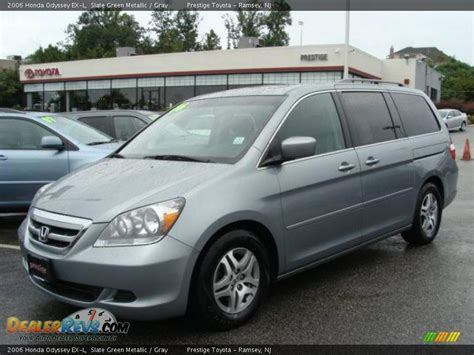 2006 Honda Odyssey Ex L by 2006 Honda Odyssey Ex L Slate Green Metallic Gray Photo