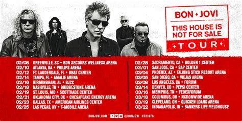 bon jovi s this house is not for sale tour to launch