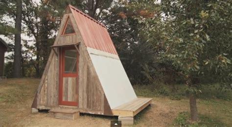 transforming  frame micro cabin   build