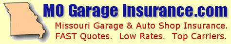 Garage Liability Insurance Cost by Mo Garage Insurance Missouri Garage Insurance For