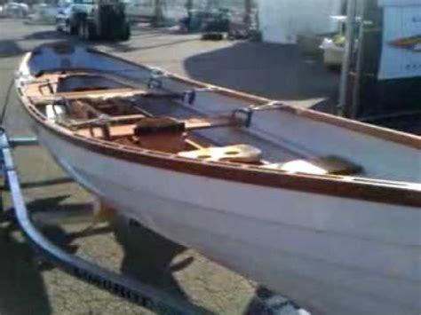backyard boats whitehall skiff i saw at backyard boats youtube