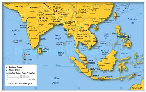 map southeast asia countries map of south east asia nations project