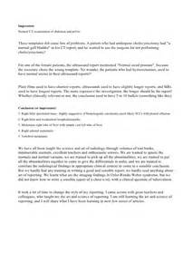 Ultrasound Report Template the art and science of reporting