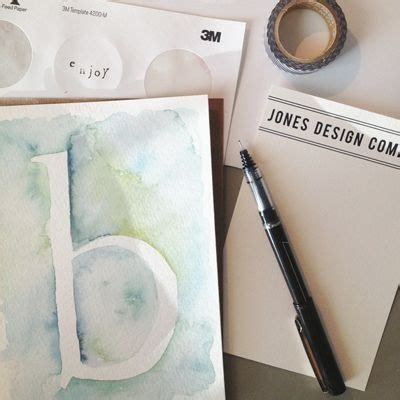 lettering tutorial paint watercolors how to paint and initials on pinterest