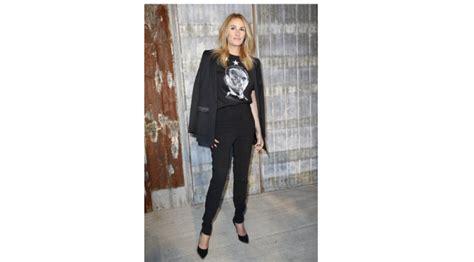 High Heels Amanda Hitam Ac36 gaya memikat selebriti nonton new york fashion week 2015 lifestyle liputan6