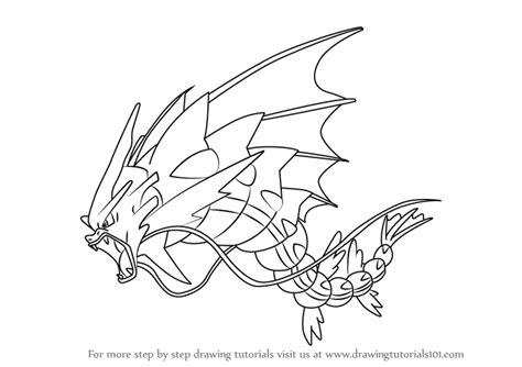pokemon coloring pages gyarados mega gyarados coloring pages printable mega best free