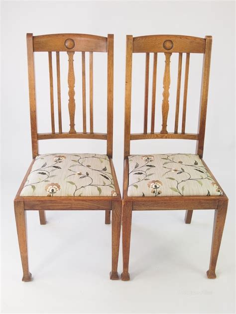 antique oak dining room chairs set 4 oak dining chairs antiques atlas