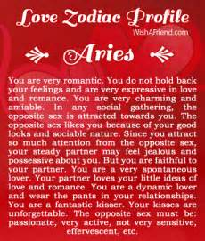 what does your zodiac sign say about your love life aries