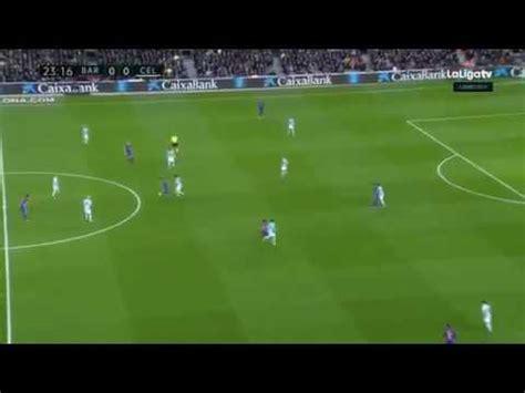 barcelone fc vs celta vigo 5 0 all goal but
