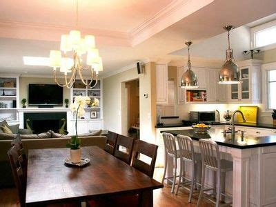 dining room and kitchen combined ideas small living room kitchen dining room combo for the