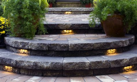 Patio Step Lights 12 Outdoor Step Lighting Ideas For Bringing Light In Your Garden