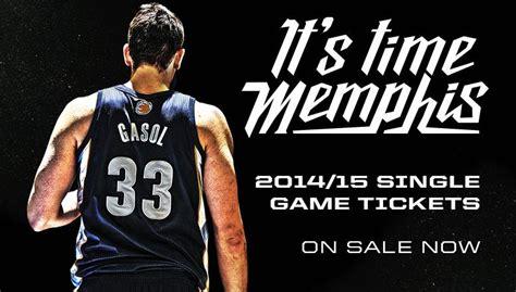 Fedexforum Box Office Hours by Grizzlies Single Tickets On Sale