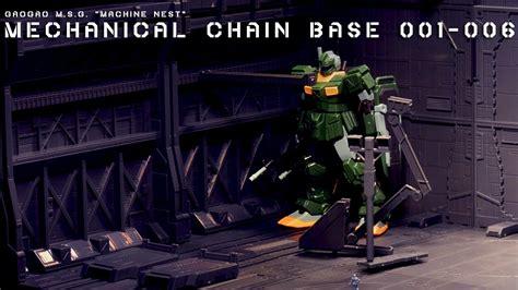 Mechanical Chain Base 001 speed build gaogao msg machine nest mechanical chain