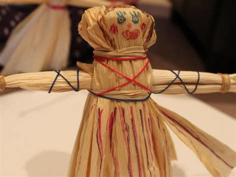 what were corn husk dolls used for corn husk doll crafts activities for children