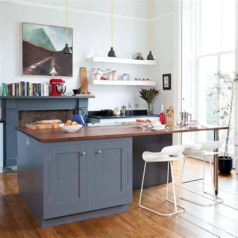 shaker kitchen island shaker kitchens kitchen design ideas photo gallery housetohome co uk