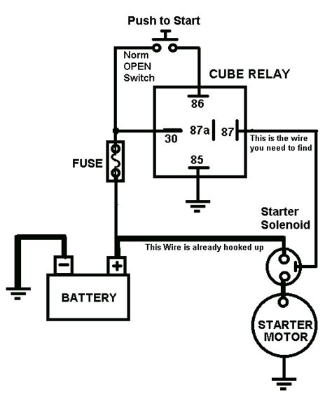 ignition relay wiring diagram wiring diagram and] with 28+ More Ideas