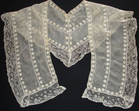 embroidered collar 18th 19th century whitework embroidery austen s world