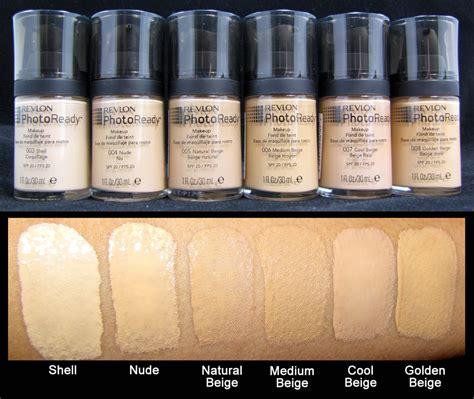 Revlon Foundation Photoready revlon photoready foundation swatches1 sanctuary of style