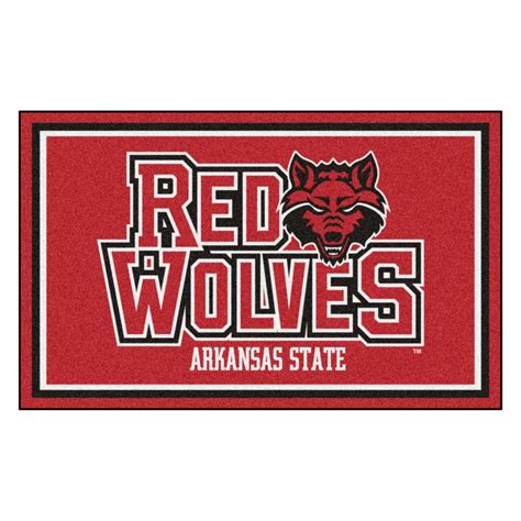 fanmats ncaa arkansas state 4 ft x 6 ft