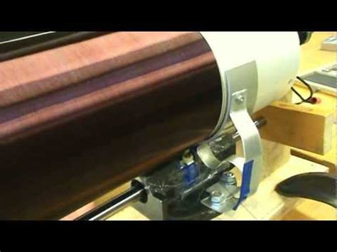 Tesla Coil Winder 0011 Automatic Tesla Coil Winding Machine Part 2