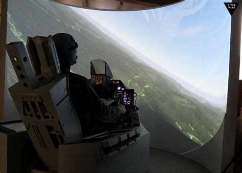 f 16 simulator cockpit for sale f 16 f 35 f 18 a 10 simulator cockpit with ejection