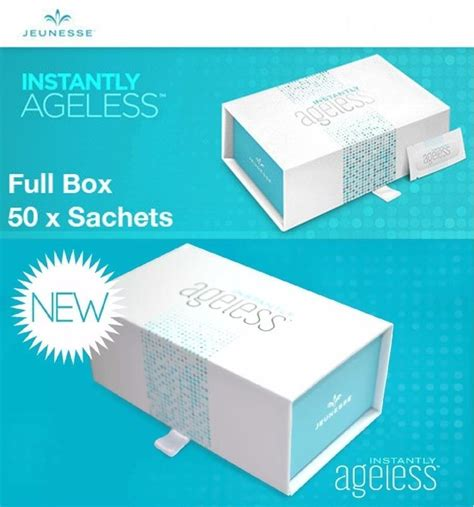 Instantly Ageless Instanly Ageless Box 2 instantly ageless by jeunesse global 1 box comes with 50 sachets