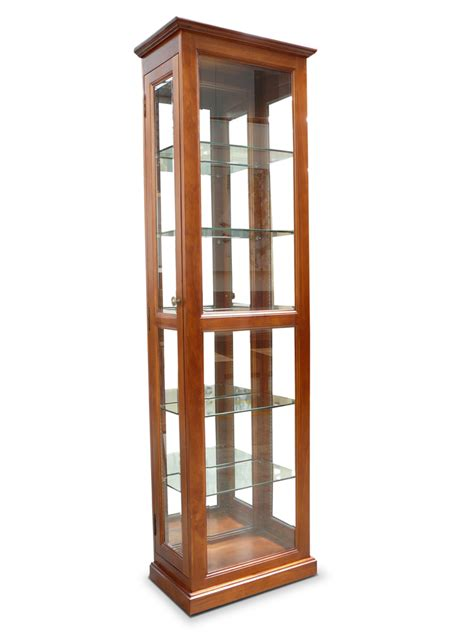 Small Glass Display Cabinet by Gallery Timber And Glass Display Cabinet Unit