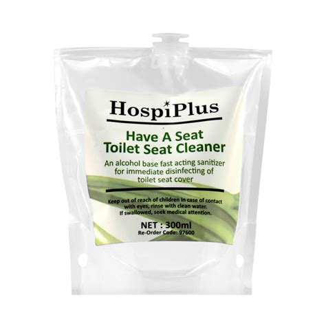 spray toilet seat sanitizer refill disinfecting cleaning formula