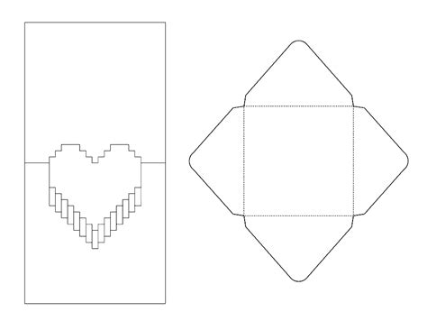 8 Best Images Of Pop Up Card Printable Templates 3d Heart Pop Up Card Template Free Printable Pop Up Card Templates