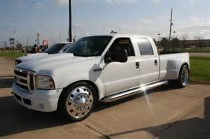 24 Dually Wheels Truck For Sale White Out F350 Dually Ford Duallys Ford