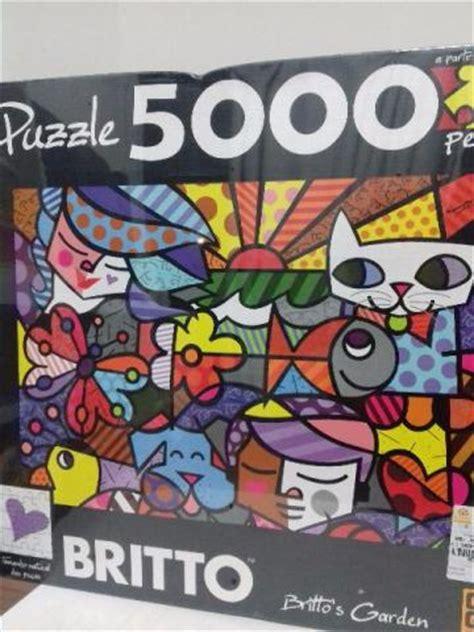 britto garden quebra cabeca puzzle pcs britto s garden vazlon brasil