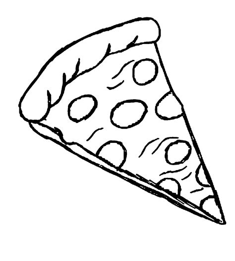 pizza coloring pages preschool fraction pizza coloring page coloring pages